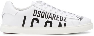 DSQUARED2 Logo Print Sneakers