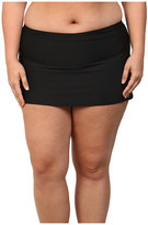 Athena Plus Size Finesse Skirted Bottoms