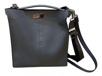 Fendi Peekaboo Blue Leather Bags