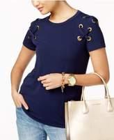 MICHAEL Michael Kors Lace-Up T-Shirt