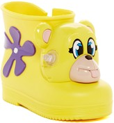 Mini Melissa X Jeremy Scott Monkey Water Resistant Boot (Toddler)