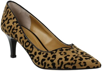 J. Renee Abigaile Notch Pointed Toe Pump