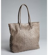 Rebecca Minkoff charcoal leather 'Lovers' studded tote