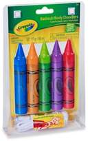 Crayola 5-Piece Bathtub Body Doodlers Plus Washcloth