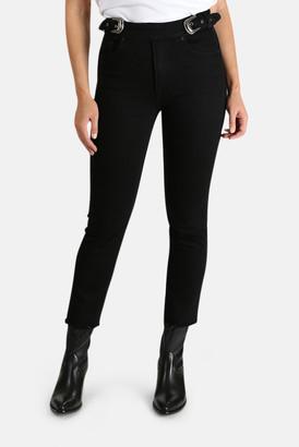 GRLFRND Zoey Belted Jeans
