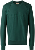 Burberry crew neck sweatshirt - men - Cotton/Viscose - S
