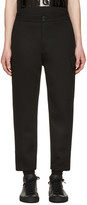 Helmut Lang Black Cropped Cargo Pants