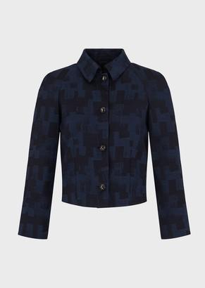 Giorgio Armani Short Jacquard Jacket