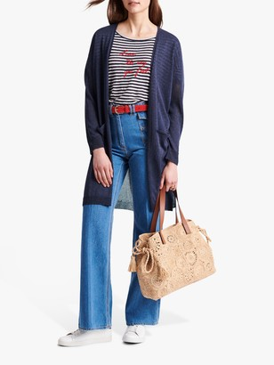 Gerard Darel Elyanna Long Cardigan, Blue
