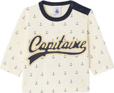 Petit Bateau Baby boy's embroidered cotton top