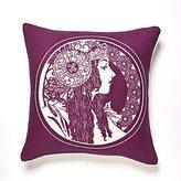 Sarah Beet Linen Pillow