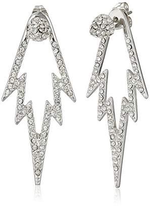 CC Skye The Crystal Pop Double Sided Drop Earrings