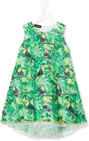 Diesel tropical print dress