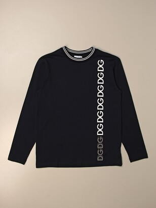 Dolce & Gabbana Dolce Gabbana Cotton T-shirt With Logo