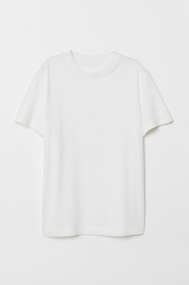 H&M Pima Cotton T-shirt - White