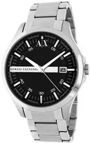 Giorgio Armani Exchange AX2103 Men's Classic Silver Stainless Steel Watch