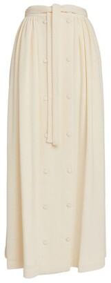 Deitas Pleated Maxi Skirt