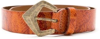 Nk Textured Leather Belt