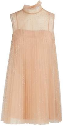 RED Valentino Short transparent dress