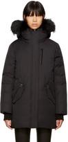 Mackage Black Down Marla Coat