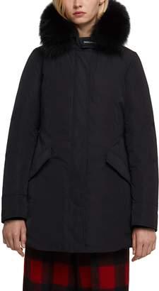 Woolrich Luxury Arctic Down Parka with Genuine Fox Fur Trim