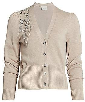 Cinq à Sept Women's Agnes Embellished Cardigan