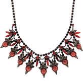 Elizabeth Cole Valentina Coral Matrix Necklace