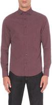 Armani Jeans Geometric print cotton shirt