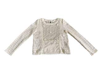 Vanessa Bruno Ecru Lace Top for Women