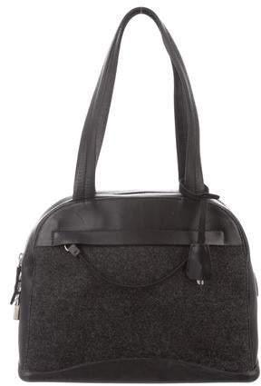 75d9836981d356 Prada Woven Leather Bag - ShopStyle