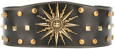 Fausto Puglisi sundial studded belt - women - Calf Leather/metal - S
