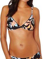 rhythm Bikini Tops Leilani Bralette Top - Black