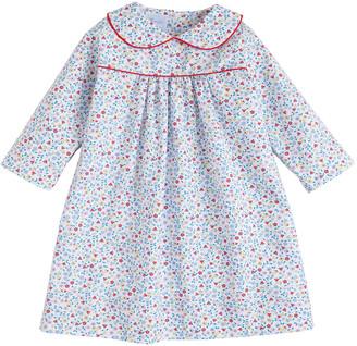 Little English Girl's Dunn Floral-Print Dress, Size 18M-8