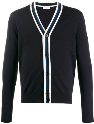 Sandro Paris Contrast Long-Sleeve Cardigan