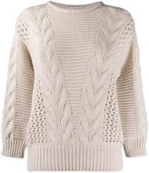 Agnona chunky-knit jumper