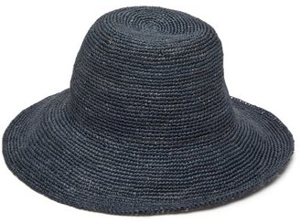 Greenpacha Ipanema Toquilla-straw Hat - Womens - Navy