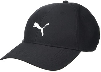 Puma Golf Pounce Adjustable Cap Black/Bright White) Caps