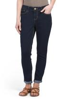 Petite Roll Cuff Skinny Jeans
