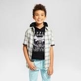 art class Boys' Short Sleeve Button Down Shirt - Art Class Santa Fe Beige