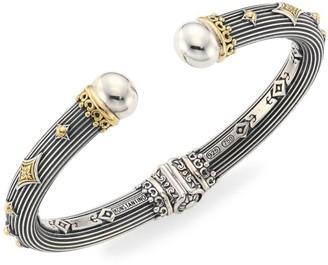 Konstantino Delos 18K Gold & Sterling Silver Hinge Bracelet