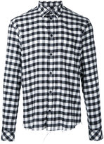 IRO checked shirt - men - Cotton - M