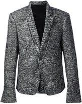 Haider Ackermann woven single button blazer