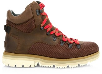 Sorel Atlis Axe Nylon & Leather Hiking Boots