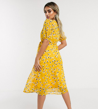 Y.A.S Mella short sleeve wrap dress