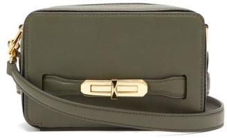 Alexander McQueen The Myth Small Leather Cross-body Bag - Womens - Khaki