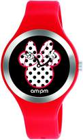 Am.pm. Disney Minnie Mouse Women's Watch by AM:PM DP155-U530 Silicone Strap