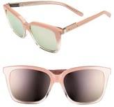 Bobbi Brown Women's 'The Alexandra' 55Mm Sunglasses - Blush Fade