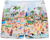 Orlebar Brown Bulldog Mid-length Printed Swim Shorts - Multi