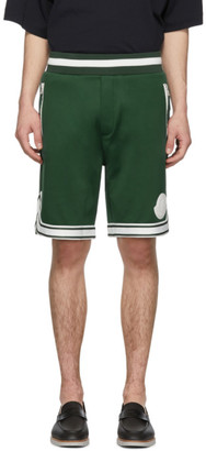 Moncler Green Sweat Shorts