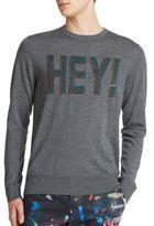 Paul Smith Merino Wool Hey Sweater